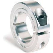 """One-Piece Clamping Collar, 3/8"""", Aluminum"""