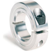 "One-Piece Clamping Collar, 1"", Aluminum"