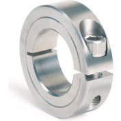"One-Piece Clamping Collar, 2-7/16"", Stainless Steel"