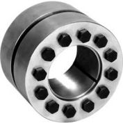 Climax Metal, Metric Keyless Rigid Coupling, C600M-17, C600 Series, Steel, 17mm Shaft