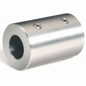 Climax Metal, Metric Set Screw Coupling, MRC-15-S, Stainless Steel, 15mm
