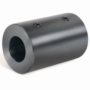 Climax Metal, Metric Set Screw Coupling, MRC-15, Black Oxide, 15mm