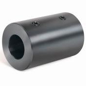 Climax Metal, Metric Set Screw Coupling, MRC-25, Black Oxide, 25mm