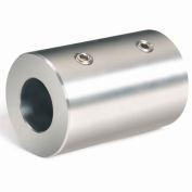 Climax Metal, Metric Set Screw Coupling, MRC-35-S, Stainless Steel, 35mm