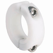 "Nylon Two-Piece Clamping Collar N2C-Series, 5/8"", Acetal"