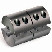 "Re-Machinable Coupling R2CC-Series, "", Black Oxide Steel, R2CC-100-100"