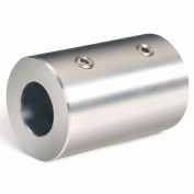 """Set Screw Coupling, 1/2"""", Stainless Steel, RC-050-S"""