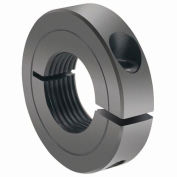 One-Piece Threaded Clamping Collar Recessed Screw, Black Oxide Steel, TC-025-20