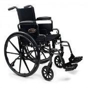 "Graham-Field 3F030130 Traveler L4 Wheelchair - Flip Back Desk Arms - 18"" x 18"", Elevating Legrest"