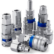 """Series 300 Safety Coupling - 1/4"""" Npt Male (Aro 210 Standard) - Min Qty 2"""