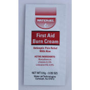 WaterJel® First Aid Burn Cream, 1/32 oz. (0.9 g), 25 Pieces/Box