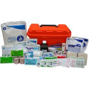 Custom Kits Company Captains Marine First Aid Kit, Plastic Case, 279 Pieces