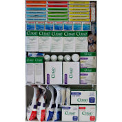 Custom Kits Company 200 Person First Aid Kit, Steel Case, 1374 Pieces