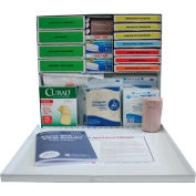 Custom Kits Company 50 Person First Aid Refill, 210 Pieces