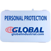 Global Industrial Personal Protection Kit, Plastic Case, 7 Pieces