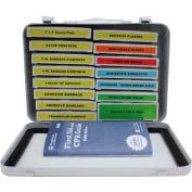 Custom Kits Company 16 Unit First Aid Refill, 16 Pieces