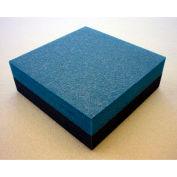 """Clark Foam Products, 1001020, Foam Sheet, 220 Poly, Blue/Charcoal, 1""""H x 12""""W x 12""""L - Pkg Qty 3"""