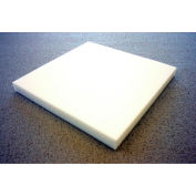 "Clark Foam Products, 1001147, Foam Sheet, 80280 Poly, Natural, 1""H x 24""W x 24""L - Pkg Qty 2"