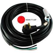 Conntek 14346, 30-Feet 30-Amp RV Extension Cord with NEMA TT-30P to ROJ