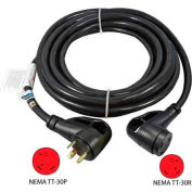 Conntek 15363, 25-Feet 30-Amp Ergo Grip RV Extension Cord with NEMA TT-30P/R