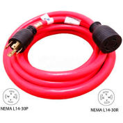 Conntek 20601-020, 20', 30A, Generator Power/Extension Cord with  NEMA L14-30 to L14-30R