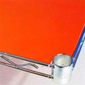 PVC Shelf Liners 12 x 48, Orange (2 Pack)