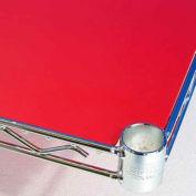 PVC Shelf Liners 12 x 30, Red (2 Pack)