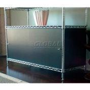 Enclosure Kit - Slide Door 18 x 42 x 18, Orange