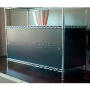 Enclosure Kit - Slide Door 18 x 30 x 18, Light Grey