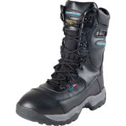 Clam™ Ice Armor™ Onyx Boots, Black, Size 8, 1 Pair