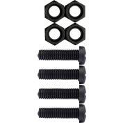 Cruiser Accessories Fasteners License Plate Frame Hardware, Black - 80150
