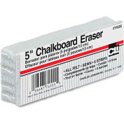 "Charles Leonard® Wood Felt Chalkboard Eraser, 5""W x 2""D"