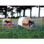 "Small Animal Hut 4'6""W x 4'H x 9'L"