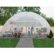 "Clear View Greenhouse Kit 20'W x 10'7""H x 24'L - Natural Gas"