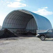 Econoline Storage Building 26'W x 12'H x 25'L White Pony Wall