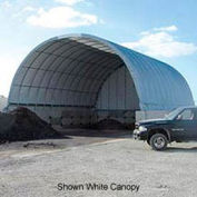 Econoline Storage Building 30'W x 15'H x 50'L Green Pony Wall