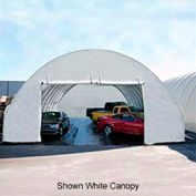 Tall 20'W Zippered End Panel - Green for Econoline buildings