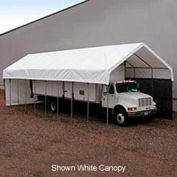 Daddy Long Legs Canopy 1240RV10N10, 12'W x 40'L, Green