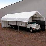 Daddy Long Legs Canopy 1250RV10W10, 12'W x 50'L, White