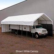 Daddy Long Legs Canopy 1660RV10G10, 16'W x 60'L, Grey