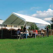 WeatherShield Commercial Canopy 18'W x 30'L Gray