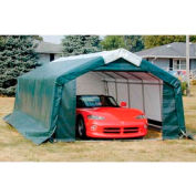 "Storage Master Garage 11'4""'W x 8'H x 20'L House Style Green"