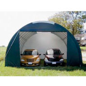 SolarGuard Oversized Garage 20'W x 12'H x 28'L Green