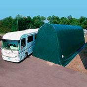Northstar Garage 18'W x 16'H x 52'L Green