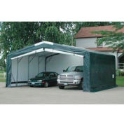 Storage Master Elite 18'W x 13'H x 35'L Green