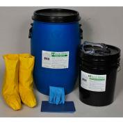 Spill Wizards HF Acid Eater Absorber Spill Kit, 15 Gallon, 2903-015