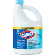 Clorox® Concentrated Germicidal Bleach, Regular, 121 oz. Bottle, 3 Bottles/Case - 30966