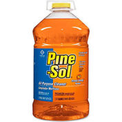 Pine-Sol® Multi-Surface Cleaner & Deodorizer, Orange Energy, 144 oz. Bottle, 3 Bottles - 41772