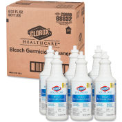 Clorox Hospital Cleaner Disinfectant W/ Bleach, 32 Oz. Bottle 6/Case - COX68832