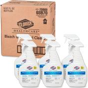 Clorox® Healthcare® Bleach Germicidal Cleaner, 32 oz. Trigger Spray, 6 Bottles/Cs - 68970
